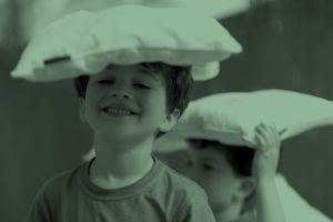 Pillow making for kids στην COCO-MAT Σύρου